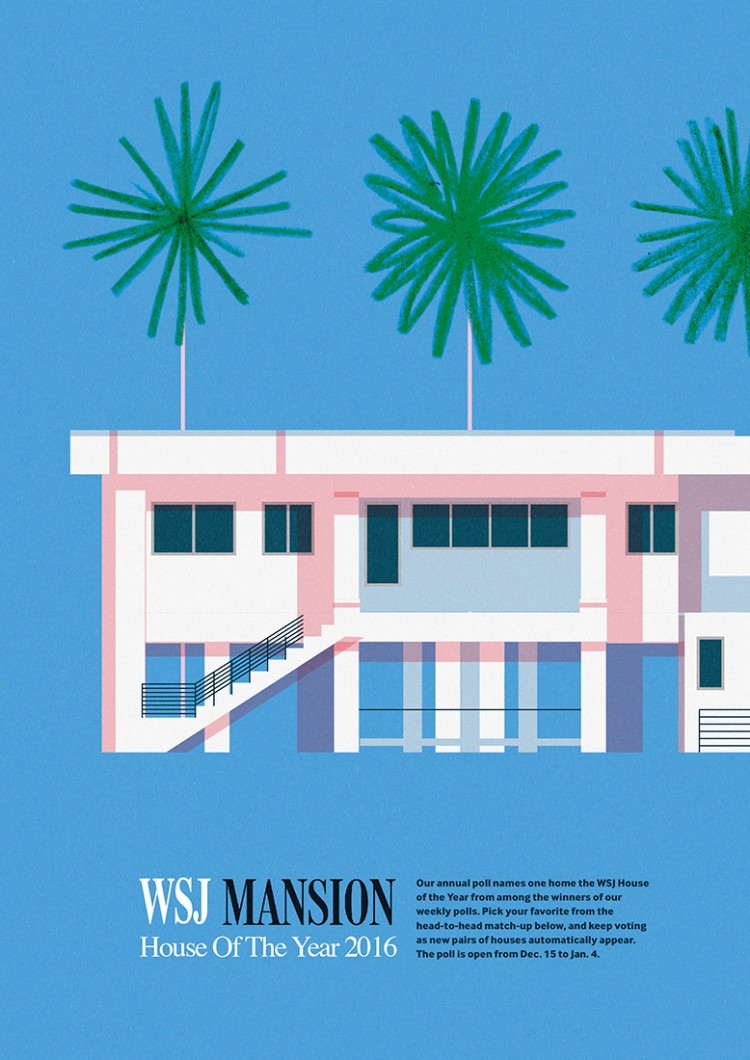 Mansion. Wall Street Journal