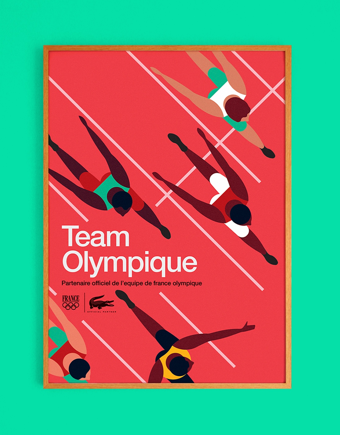 Lacoste Team Olympique Runners – Mike Lemanski