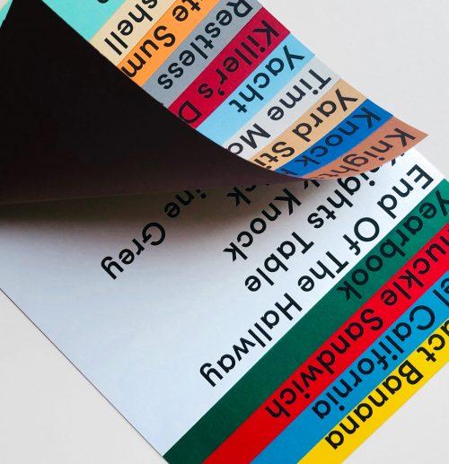 Book 2 – Colour Name Abstract Banana